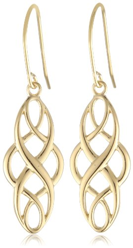 18k Yellow Gold Plated Sterling Silver Celtic