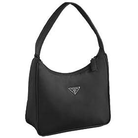 Prada MV519 Black Pochette Handbag