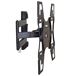 """Invision® UK`s First Ultra Slim Low Profile """"cantilever"""" TV Wall Bracket. (SPECIAL DESIGN FOR NEW L.E.D, LCD & PLASMA Screens 26 TO 55 Inch. Fits, SAMSUNG, SONY, LG etc..) MAX VESA is 400x400mm please check this before purchase."""