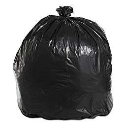 Boardwalk 521 Super Extra-Heavy Grade Can Liners, 40 x 46, 1.6 Mil, 40-45gal, Black (Case of 4)