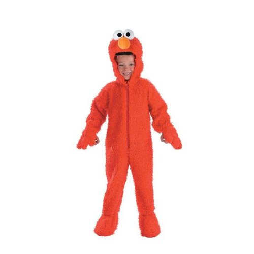 Elmo Deluxe Plush Costume: Toddler'S Size 2T front-753648