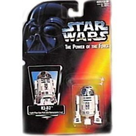 Star Wars, The Power Of The Force Red Card, R2-D2 Action Figure, 3.75 Inches