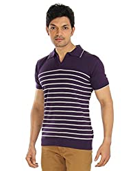 Silver Spring Purple Super Combed Cotton T Shirt _ RVD003_S