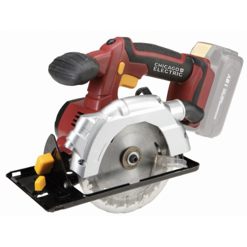 """18 Volt 5-1/2"""" Cordless Circular Saw With Laser Guide System"""
