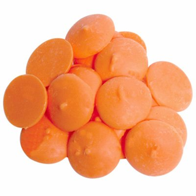 Darice Make'n Mold Vanilla Flavored Candy Wafter Melts Orange