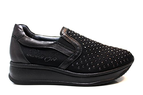 Liu Jo Girl B22574 Nero Sneakers Scarpe Donna Calzature Comode Woman Shoes