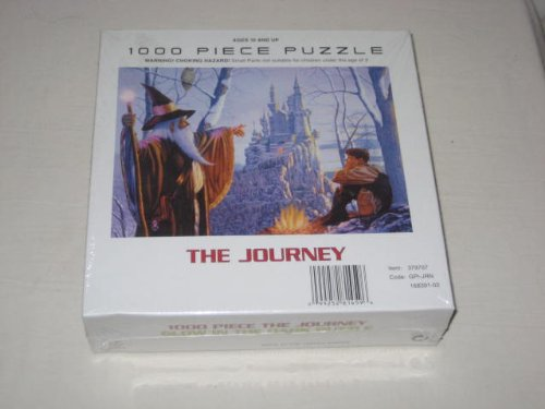 The Journey - 1000 Piece Glow In The Dark Jigsaw Puzzle - Wizard & Castle