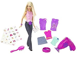 Amazon.com: Totally Stylin' Tattoos Barbie: Toys & Games
