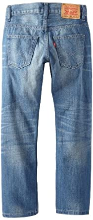 Levi's Boys 8-20 511 Slim Fit Jean, Broken Rules, 8/Regular