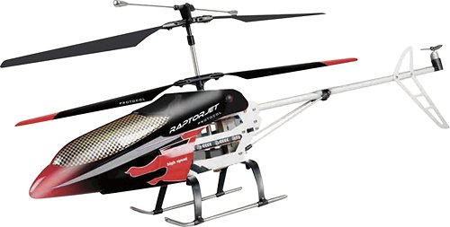 Raptorjet 35 Channel Radio Control Helicopter With Gyro 49 MHZ Protocol