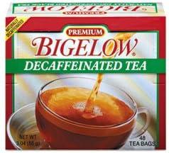 Single Flavor Tea Decaffeinated Black 48 BagsBox