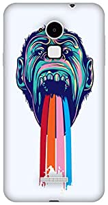 The Racoon Lean Tripping Chimpanzee hard plastic printed back case/cover for Coolpad Note 3