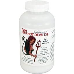 10 lb Sodium Hydroxide Food Grade Red Hot Devil Lye Caustic Soda Beads