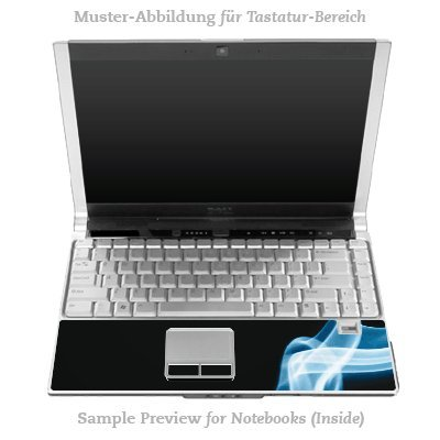 Design Skins für HP EliteBook 2530p Tastatur (Inlay) - Smoke Design Folie