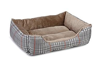 Beeztees Stewart Cat Rest Bed, Brown