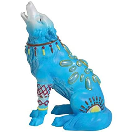 Amazon.com - Westland Giftware Jewel Wolf 3-Inch Mini Figurine