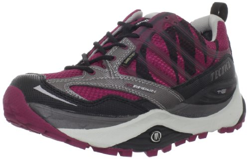 Tecnica Women's Dragon Max GTX WS Trail Running Shoe,Dark Grey/Red,9 M US