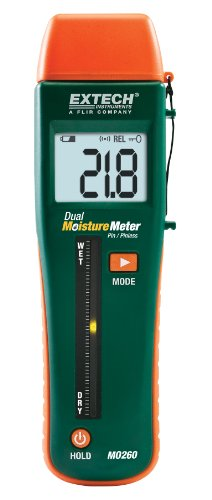 Extech MO260 Combination Pin/Pinless Moisture Meter
