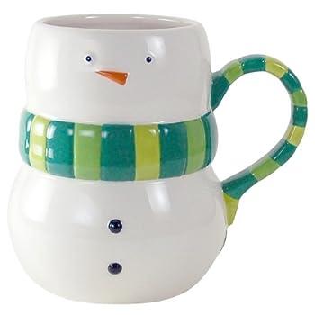 Plump Snowman Mug