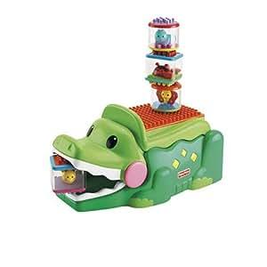 Fisher-Price Peek a Blocks Stacks & Smile Crocodile