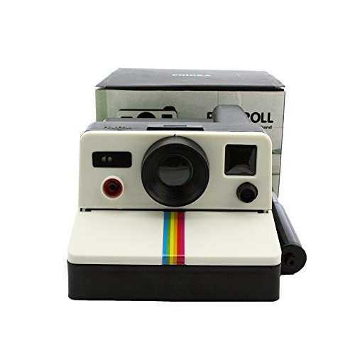 Toilet Bathroom Lavatory Washroom Office Home Hotel Hanging Tissue Box Paper Roll Holder 80s Retro Style Polariod Creative Camera Shaped