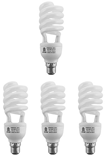 Ncore 27W B22 CFL Bulb (Cool Day Light, Pack of 4) Image