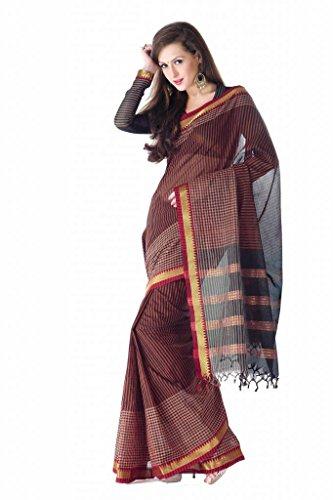 ISHIN Cotton Multicolor Sarees Sangram