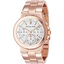 Michael Kors Chronograph Rose Gold Tone Bracelet Ladeis Watch MK5223