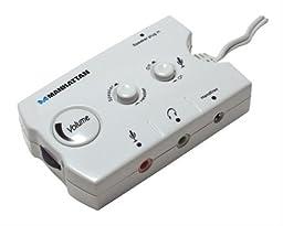 Audio Speaker / Headset Switching Hub, Manhattan 172851