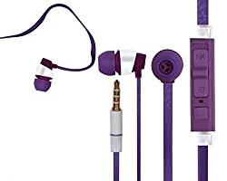JIYANSHI stylish earphone purple Compatible with Samsung Galaxy Ace S5830