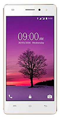 Lava A72 4G (White & Gold, 8 GB)