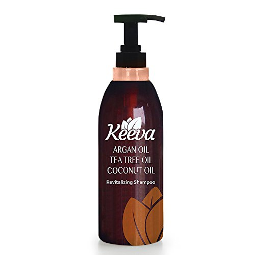Keeva Sulfate Free Shampoo with Tea Tree Oil, Argan Oil and Coconut Oil 3-in-1 Formula, 28.2 fl. oz (Medicated Hair Grease compare prices)