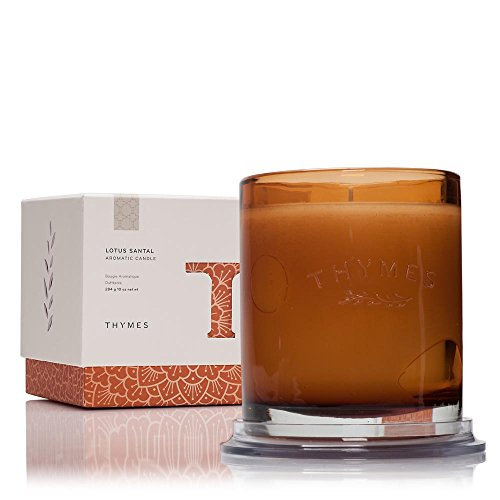 thymes-lotus-santal-candle