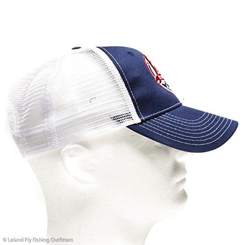 The world famous leland fly fishing trucker hat best fly for Fly fishing trucker hat