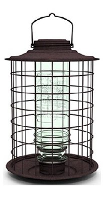 More Birds 18 Caged Songbird Vintage Seed Feeder