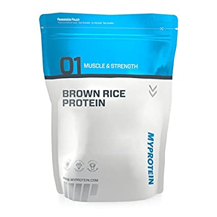 Myprotein Brown Rice Protein Unflavoured - 2500g Beutel