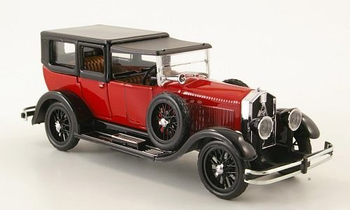isotta-fraschini-8a-red-black-rhd-1924-model-car-ready-made-rio-143