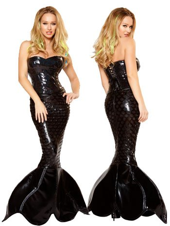Sexy Mermaid Mistress Costume - LARGE