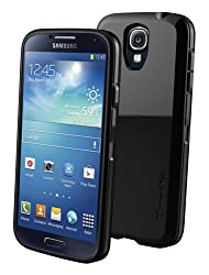 Qmadix Holster Shell Combo for Samsung Galaxy S4 Holder - Retail Packaging - Black