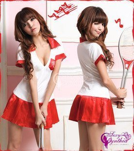 Fancy dress costume party goods sale costumes banquet Goods adult events easy game popular year-end party festival gift for cute club Girl! Ultra-cute tennis uniform neat and clean classic cosplay schoolgirl uniforms sexy middle school students for adult Halloween Christmas