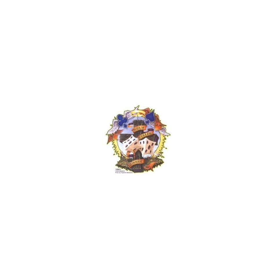 Jeral Tidwell   Holy Roller Cross   Sticker / Decal