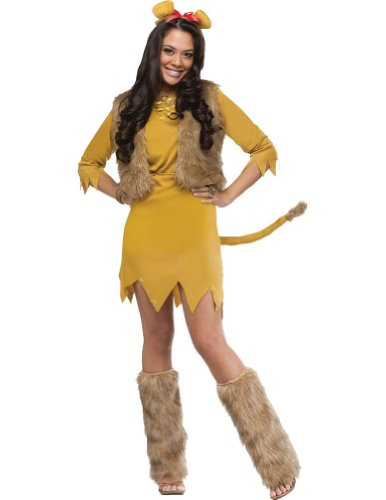Lion Adult Costume 10-14 Adult Womens Costume