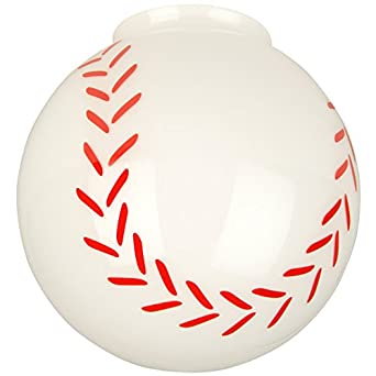 Craftmade Fan Light Fitter Glass 405 Baseball Globe
