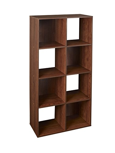 ClosetMaid 4106 Cubeicals 8 Cube Organizer, Dark Cherry Storage and Organization Furniture