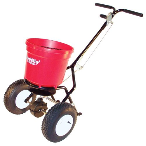Review Earthway 2150 Commercial 50-Pound Walk-Behind Broadcast Spreader
