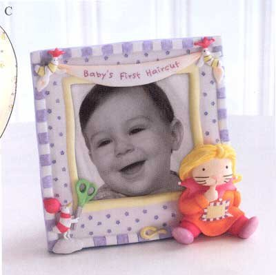 Baby's First Haircut Photo Frame - 1