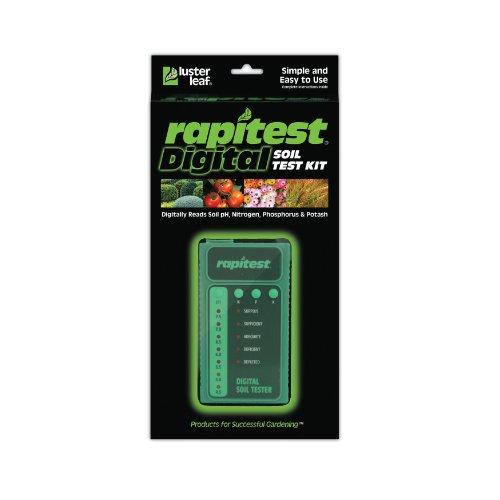 Luster Leaf 1605 Rapitest Digital Soil Testing Kit (Electronic Soil Tester compare prices)