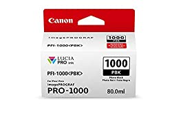 CanonInk LUCIA PRO PFI-1000 Photo Black Individual Ink Tank