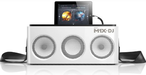 Philips Ds8900/37 M1X-Dj Sound System Docking Station And Bluetooth, White