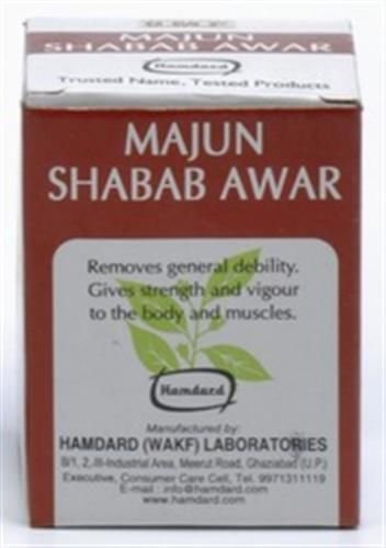 2 Lot X Hamdard Majun Shabab Awar (60 Gms) X 2